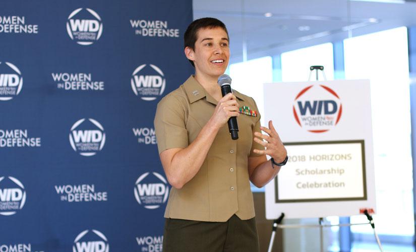 Captain Sarah Grant, USMCR