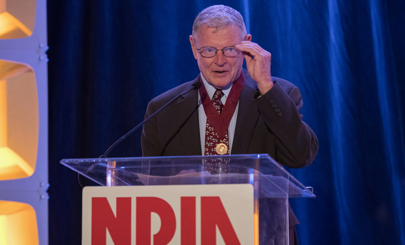 NDIA congratulates Sen. James Inhofe, new chairman of the Senate Armed Services Committee