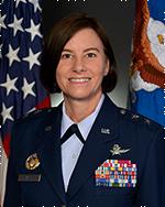 Maj Gen Sarah Zabel, USAF