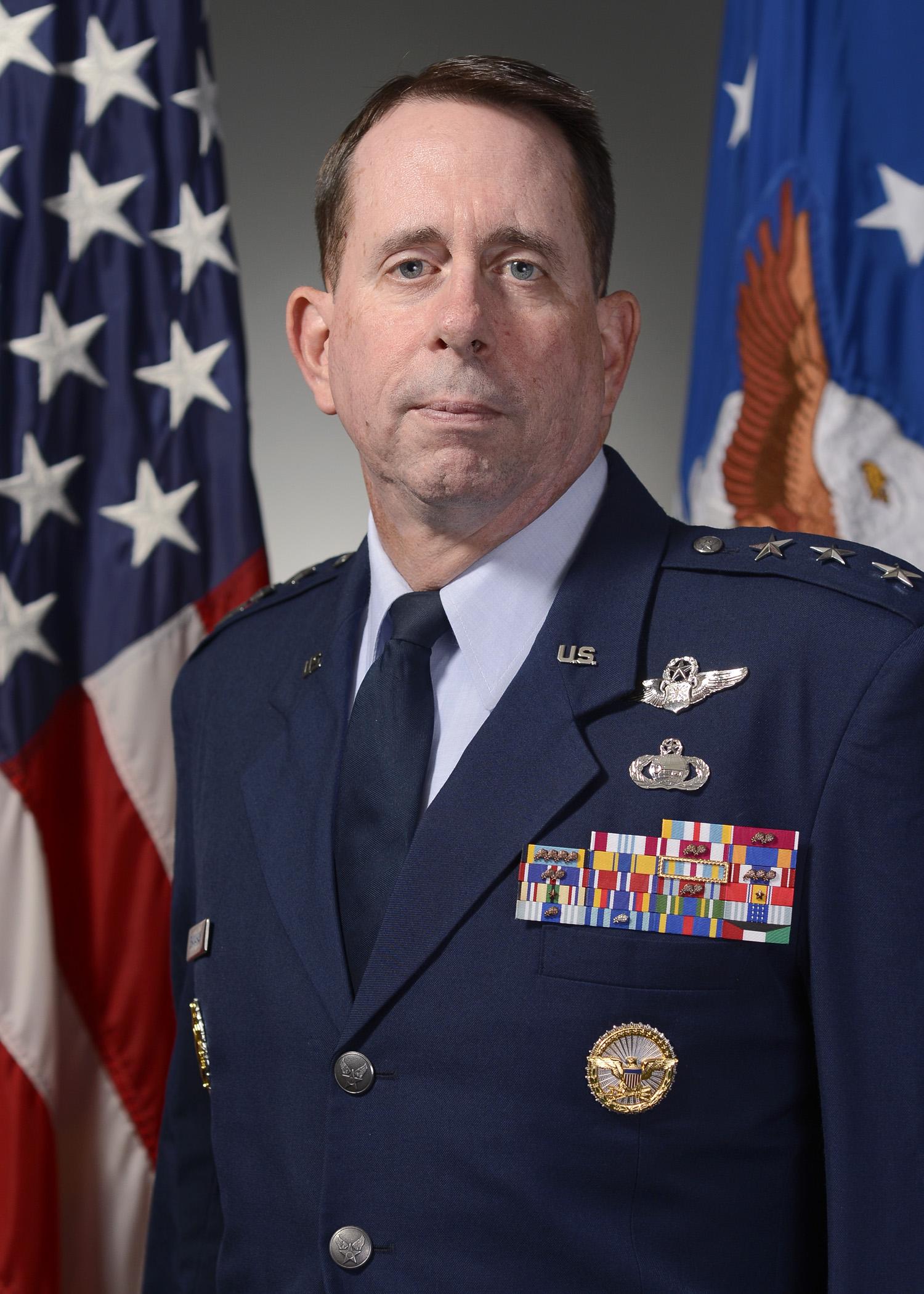 Lt Gen John N.T. Shanahan, USAF