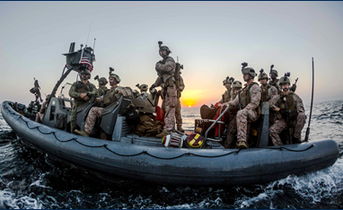 Expeditionary Warfare Conference Image of Marines in Landing Craft