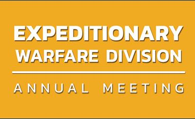 Expeditionary Warfare Division Annual Meeting