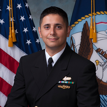 Photo of LCDR Gregory M. Contreras, USN