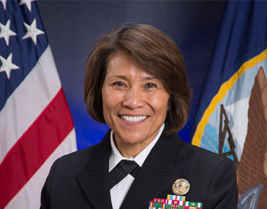 Head Shot of VADM Raquel Bono USN