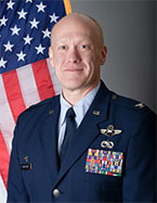 Headshot of Col Gary R. Charlton II, USAF