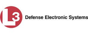L3 Defense Electronic Systems logo