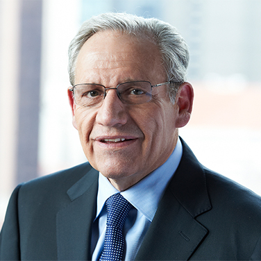 Headshot of Bob Woodward, Two-Time Pulitzer Prize-Winning Journalist & Associate Editor of The Washington Post