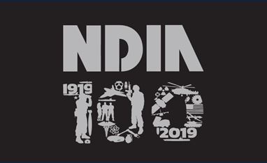 NDIA 100 graphic logo