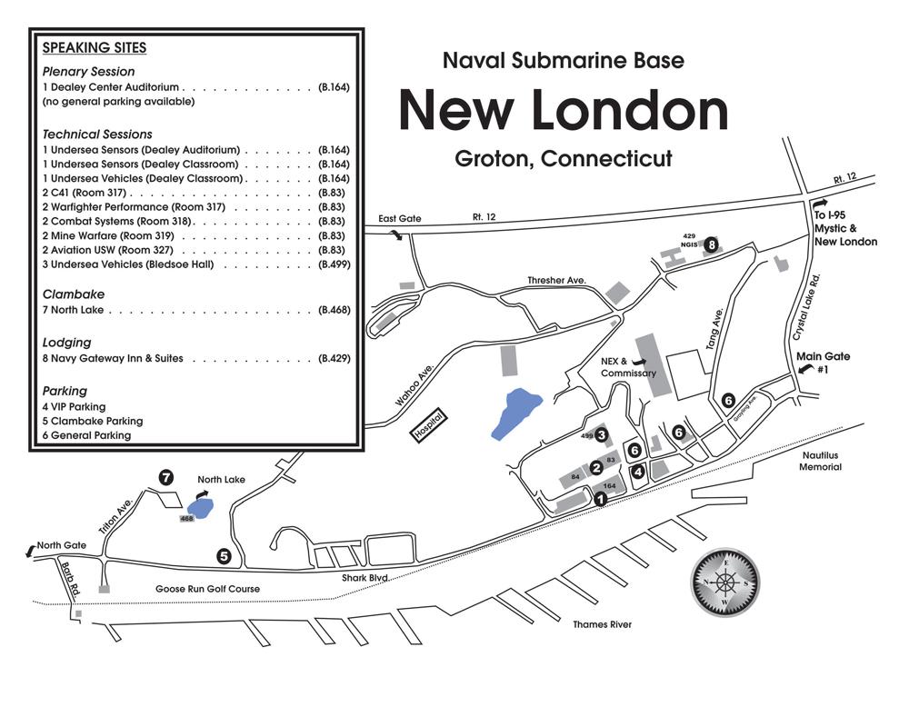 New London Base Map, Groton, CT
