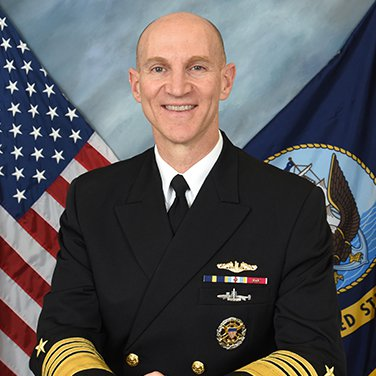 Headshot of ADM James F. Caldwell, Jr., USN, Director, Naval Nuclear Propulsion Program