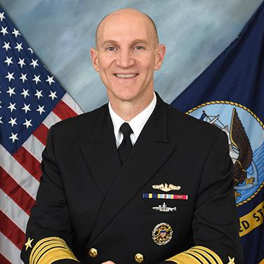 Headshot of ADM James F. Caldwell, Jr., USN, Director, Naval Nuclear Propulsion Program