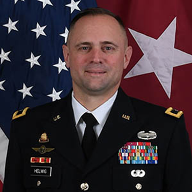Colonel Jered Helwig Picture