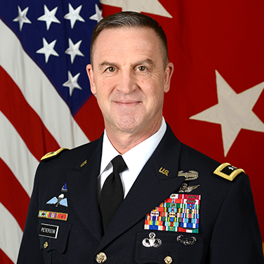 Headshot of MG Erik Peterson, USA, Director, Force Development, Office of the Deputy Chief of Staff, G-8