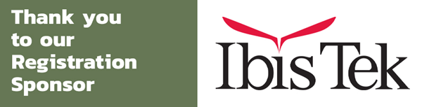 Ibis Tek company logo registration sponsor thank you