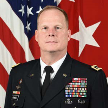 Lieutenant General Duane Gamble, USA