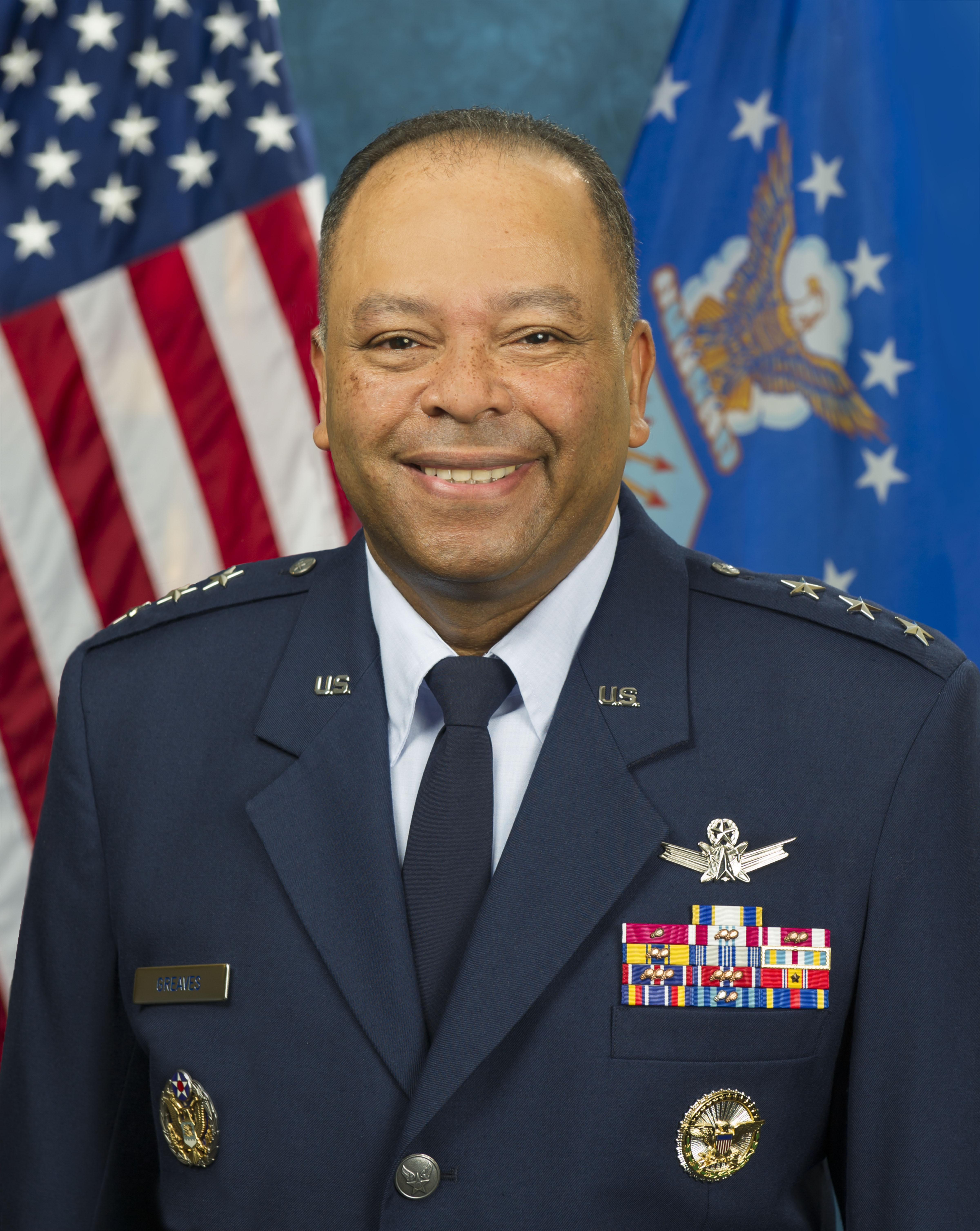 Lt. Gen. Samuel A. Greaves