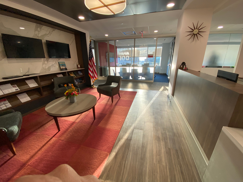 Picture of NDIA Front Lobby and Forrestal Conference Room