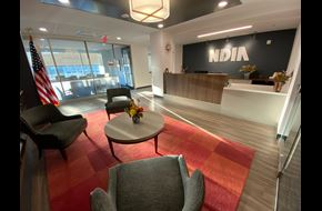 Picture of NDIA Front Lobby and Receptionist Desk