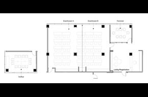 Floorplans of NDIA Conference and Meeting Rooms