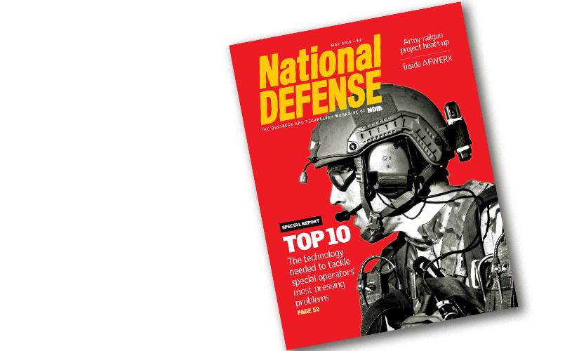 Nation DEFENSE magazine May 2018